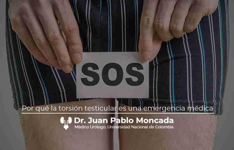Por qué la torsión testicular es una emergencia médica