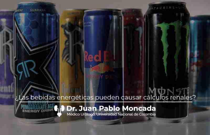¿Las bebidas energéticas pueden causar cálculos renales?